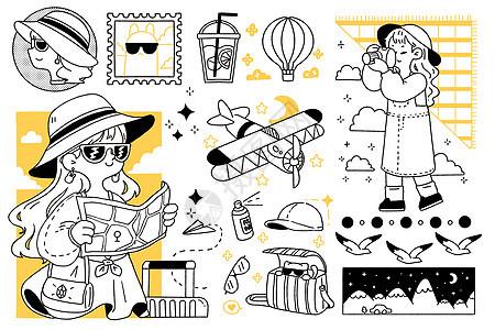 旅行日记图片