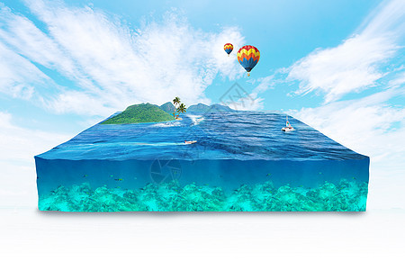 创意海洋合成图片
