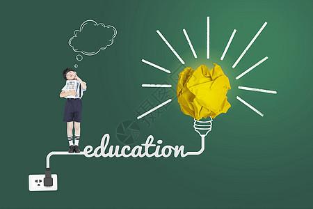 儿童创意教育图片