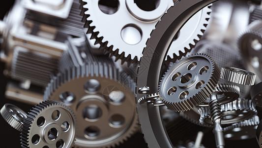 C4D工业齿轮图片