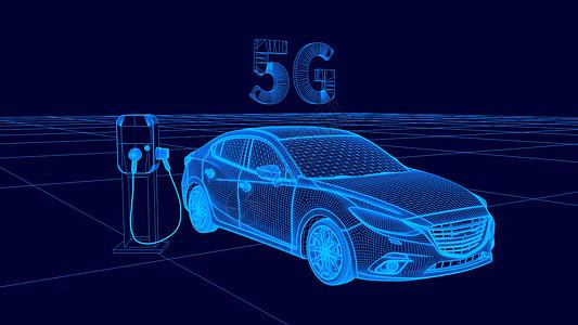 3D汽车科技图片