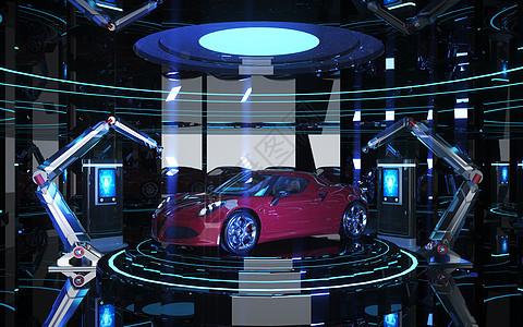 汽车生产自动化图片