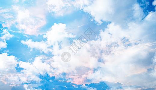 天空云朵背景图片