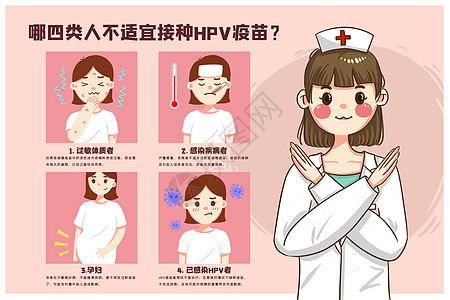 哪四类人不适宜接种hpv疫苗图片