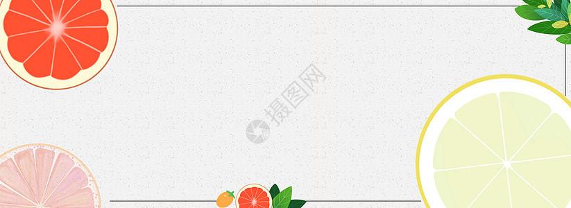 卡通手绘水果背景图片