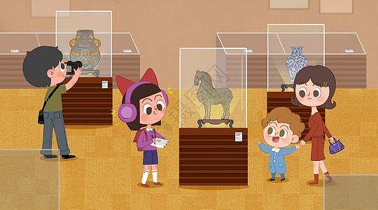 博物馆展览图片