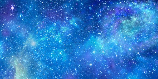 璀璨幻星空宇宙背景图片