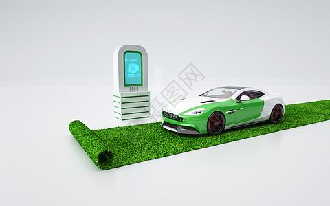 汽车环保概念图片