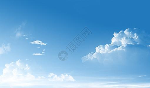 蓝天白云背景picture