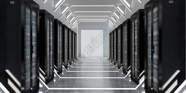 服务器机房场景图片