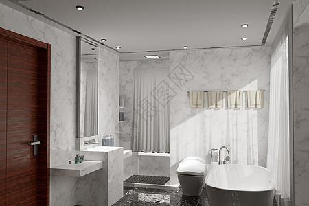 4D浴室图片