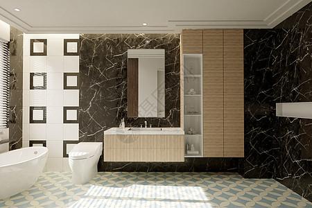 卫浴洗手间图片
