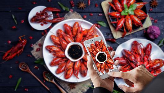 手机摄影美食图片