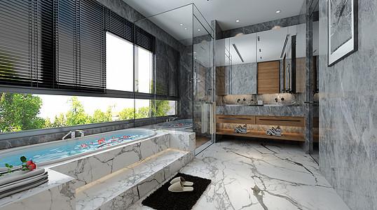 卫浴场景图片