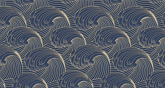 中式立体底纹图片