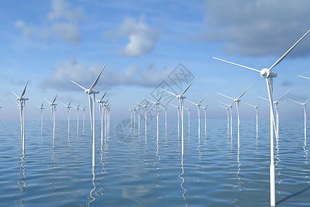 海上风力发电图片
