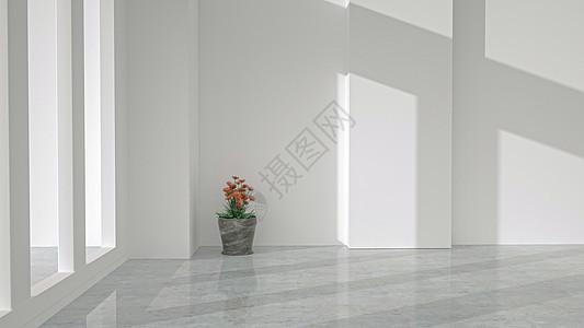 极简室内空间图片