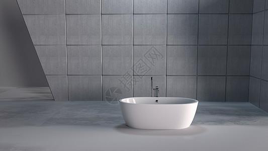 3D简约卫浴场景图片