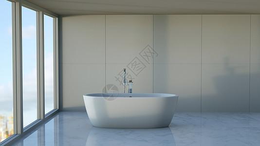 浴室室内场景图片