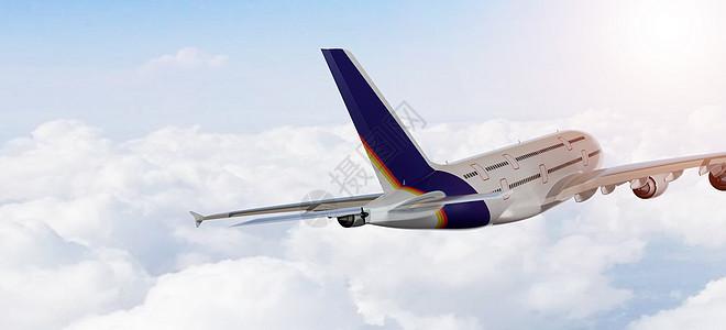 飞机场景图片
