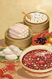 大寒节气风俗美食图片