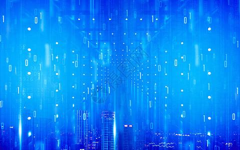 蓝色科技背景图片