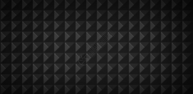 立体锥形黑色背景图片