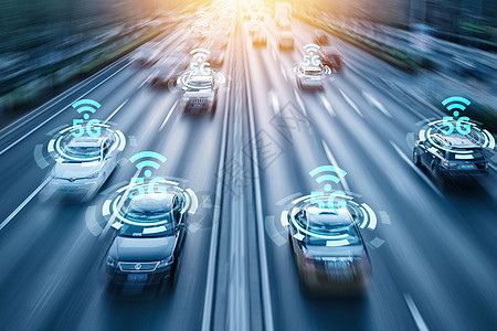 智能汽车联网图片