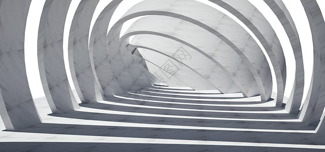 3D空间建筑背景图片
