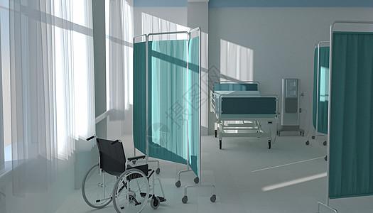 C4D医院病房图片