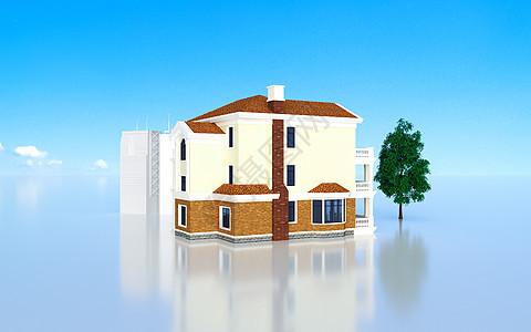 3d房屋模型图片