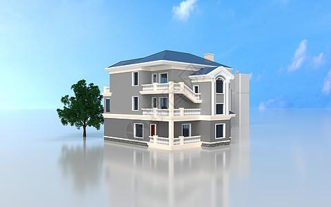 3d建筑房子模型图片