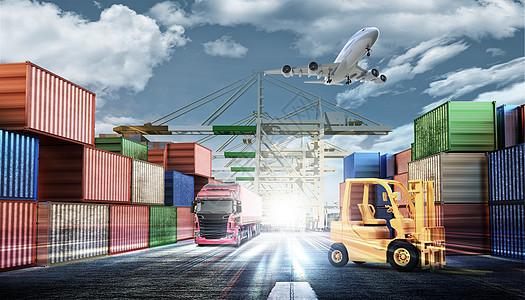 物流运输图片