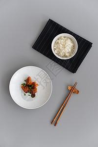 红烧肉米饭排骨米饭图片
