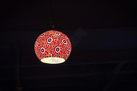 花色的灯罩图片