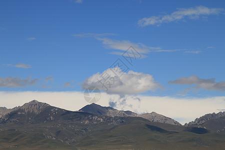 高山白云图片