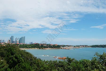 海边城市的美丽风光图片