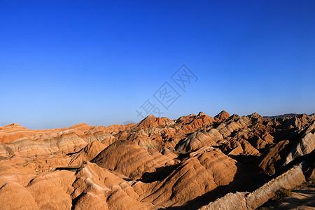 张掖丹霞地貌图片
