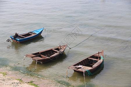 北戴河打鱼船图片