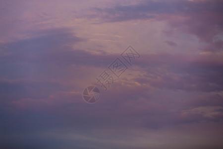 天空中的云彩图片
