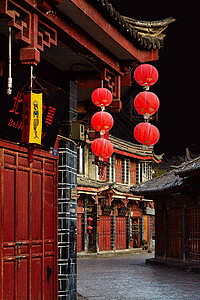 丽江古镇图片
