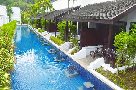 泳池别墅图片