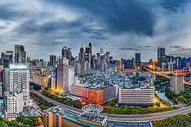 广州城市夜景风光图片