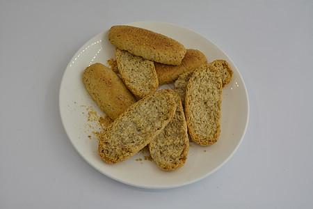 面包干图片
