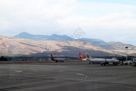 机场风景图片