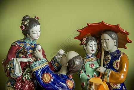 瓷器人物图片