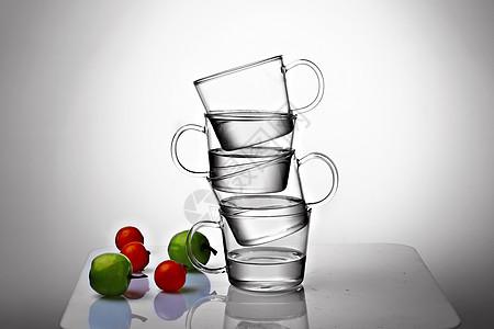 高硼硅玻璃杯图片
