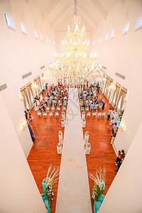 教堂婚礼图片