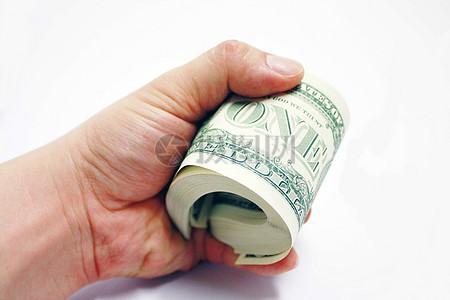 一叠外国纸钞图片