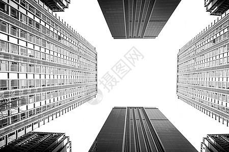 抽象建筑摄影图片